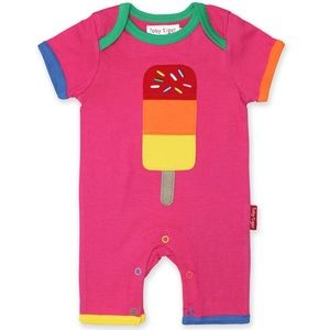 Other - Organic Cotton Lolly Aplique Romper 3-6 months